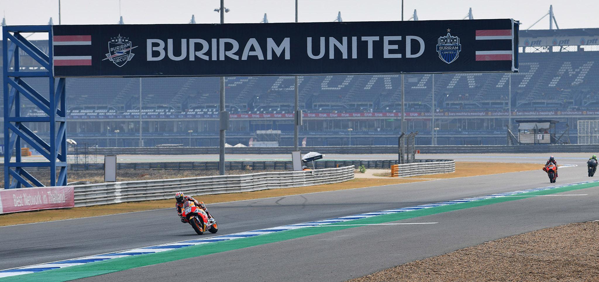 Sau Qatar, MotoGP 2020 tại Thái Lan cũng sẽ bị hoãn