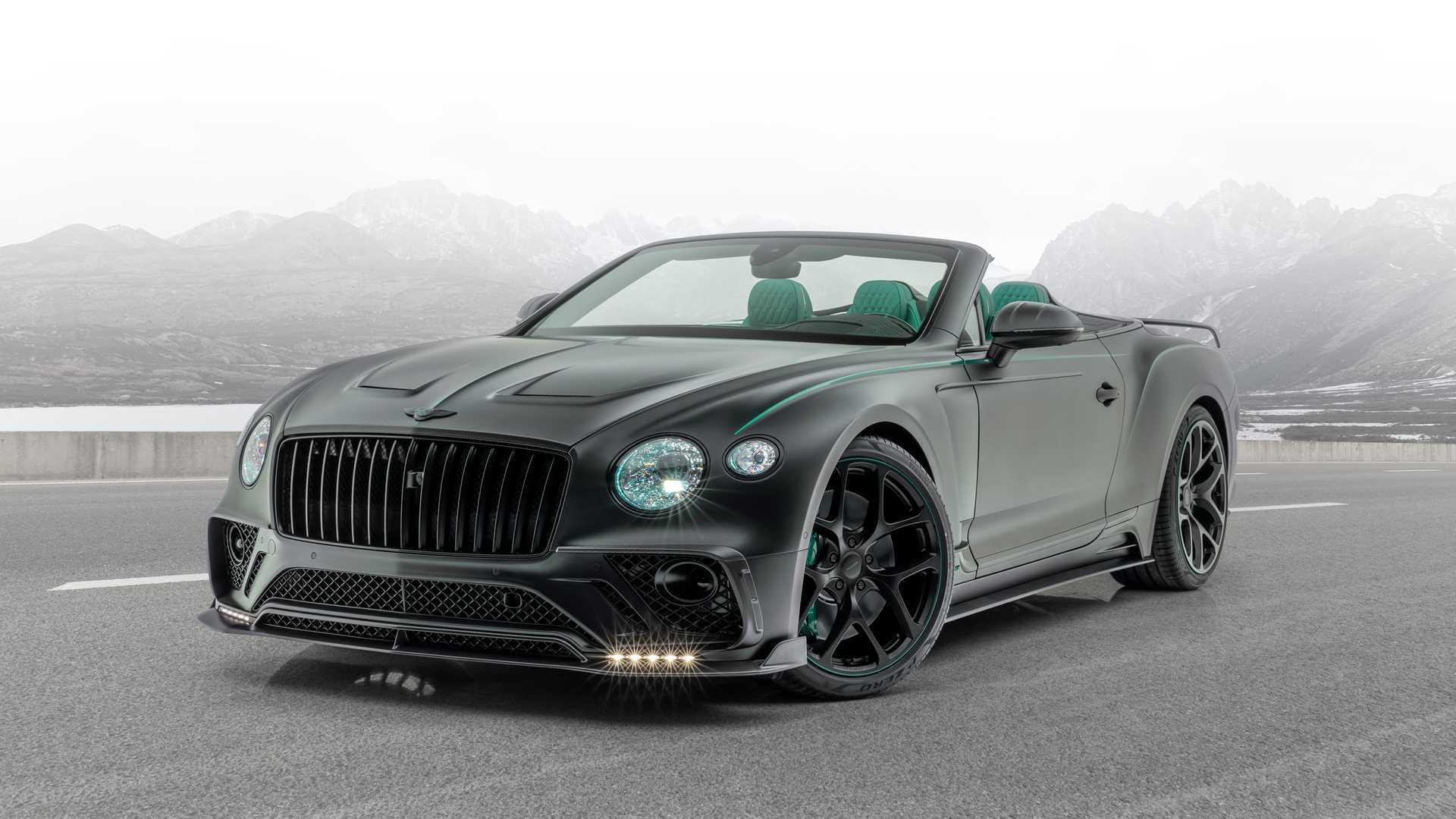 Bentley Continental GT V8 Cabriolet lột xác với gói độ của Mansory
