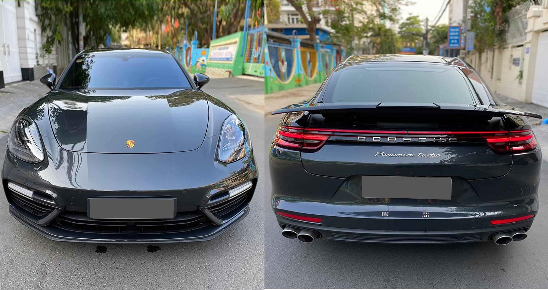 Porsche Panamera Turbo đời mới đầu tiên tại VN lên sàn xe cũ, mất giá 6 tỷ