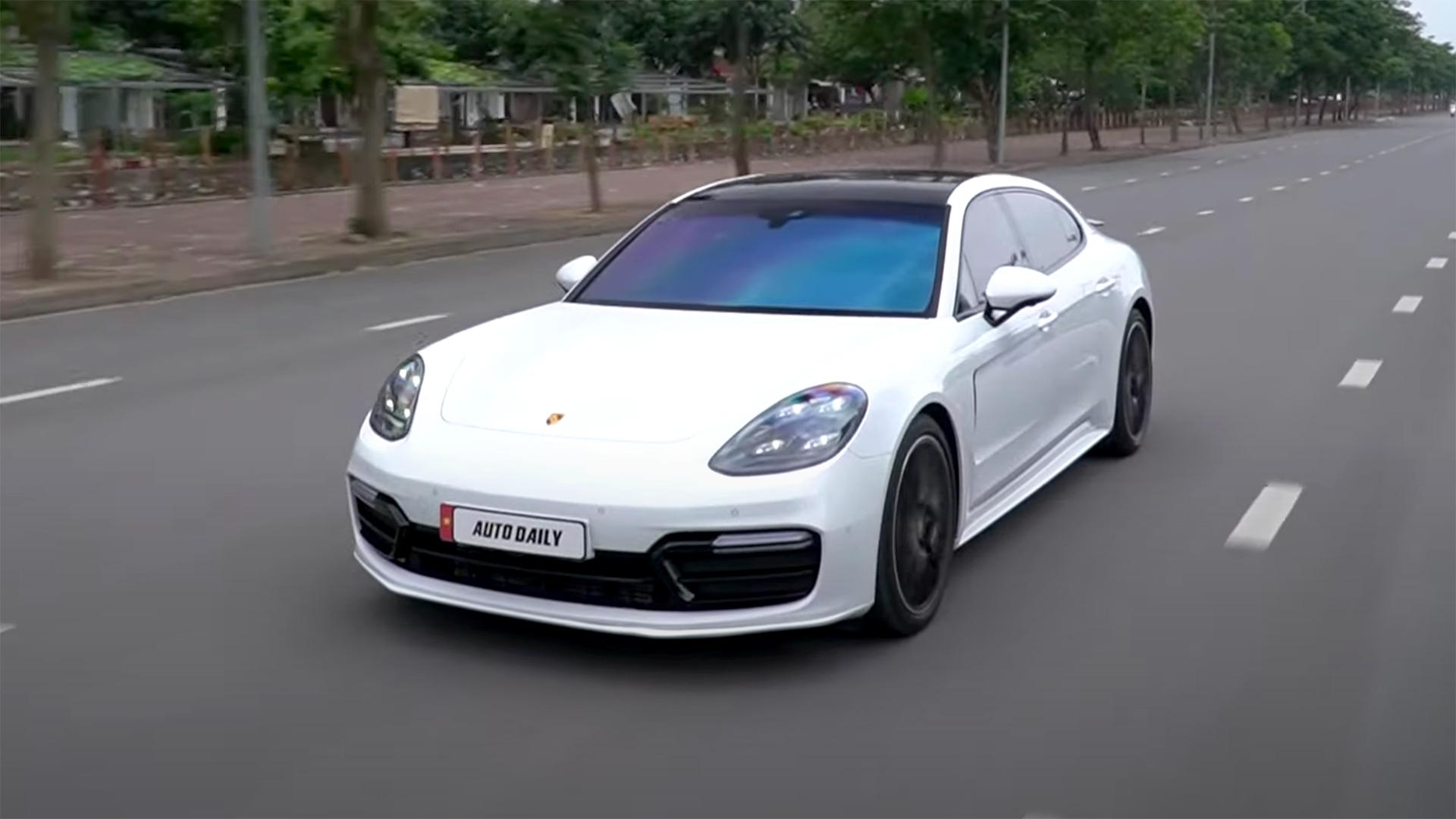 Đây là chiếc Porsche Panamera ĐỈNH NHẤT Việt Nam