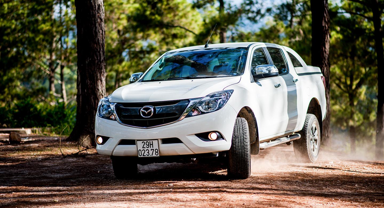 Sở hữu bán tải Mazda BT-50 mạnh mẽ giá từ 580 triệu đồng