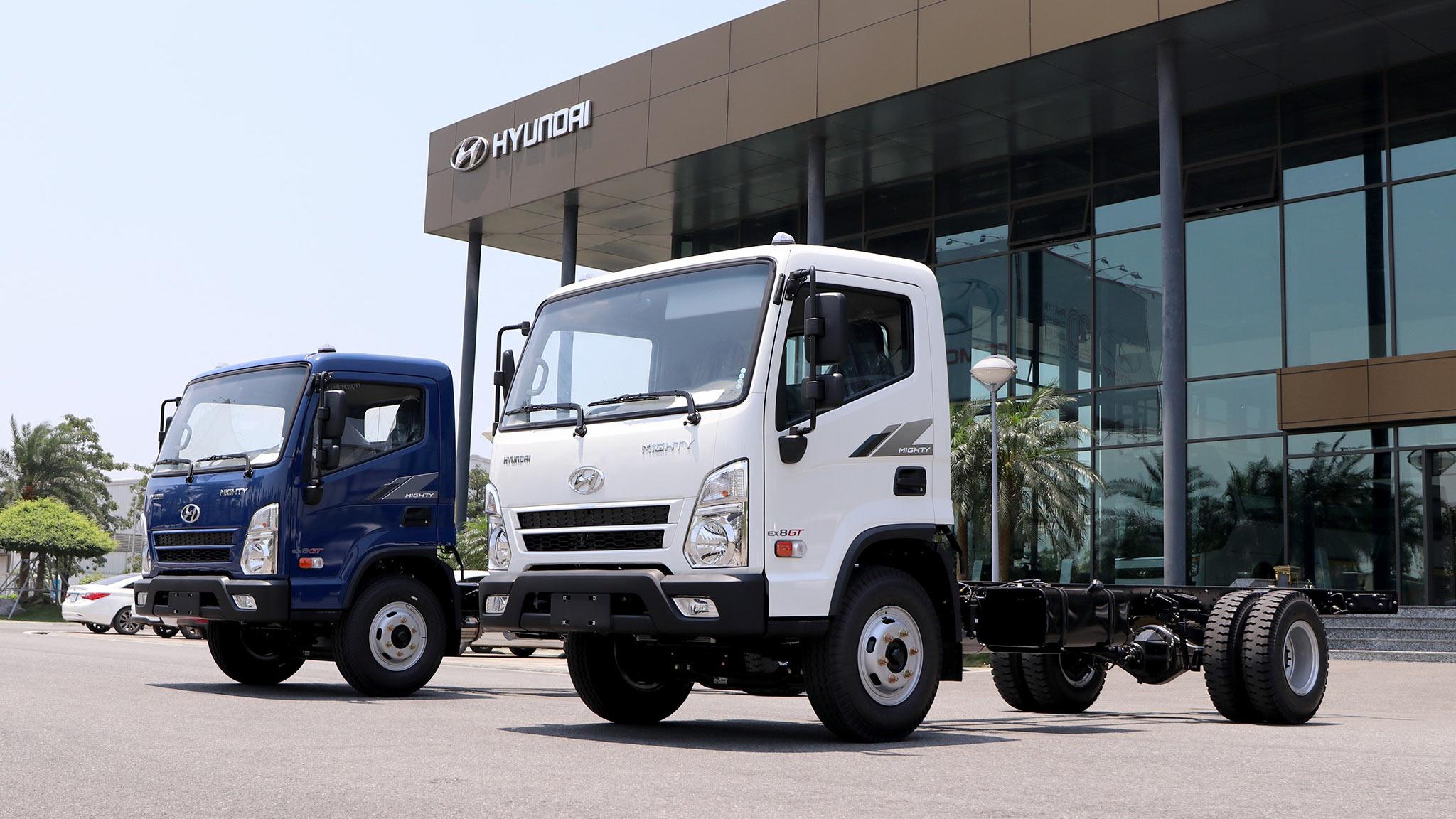 Xe tải Hyundai Mighty EX8 GT ra mắt tại Việt Nam, giá từ 695 triệu