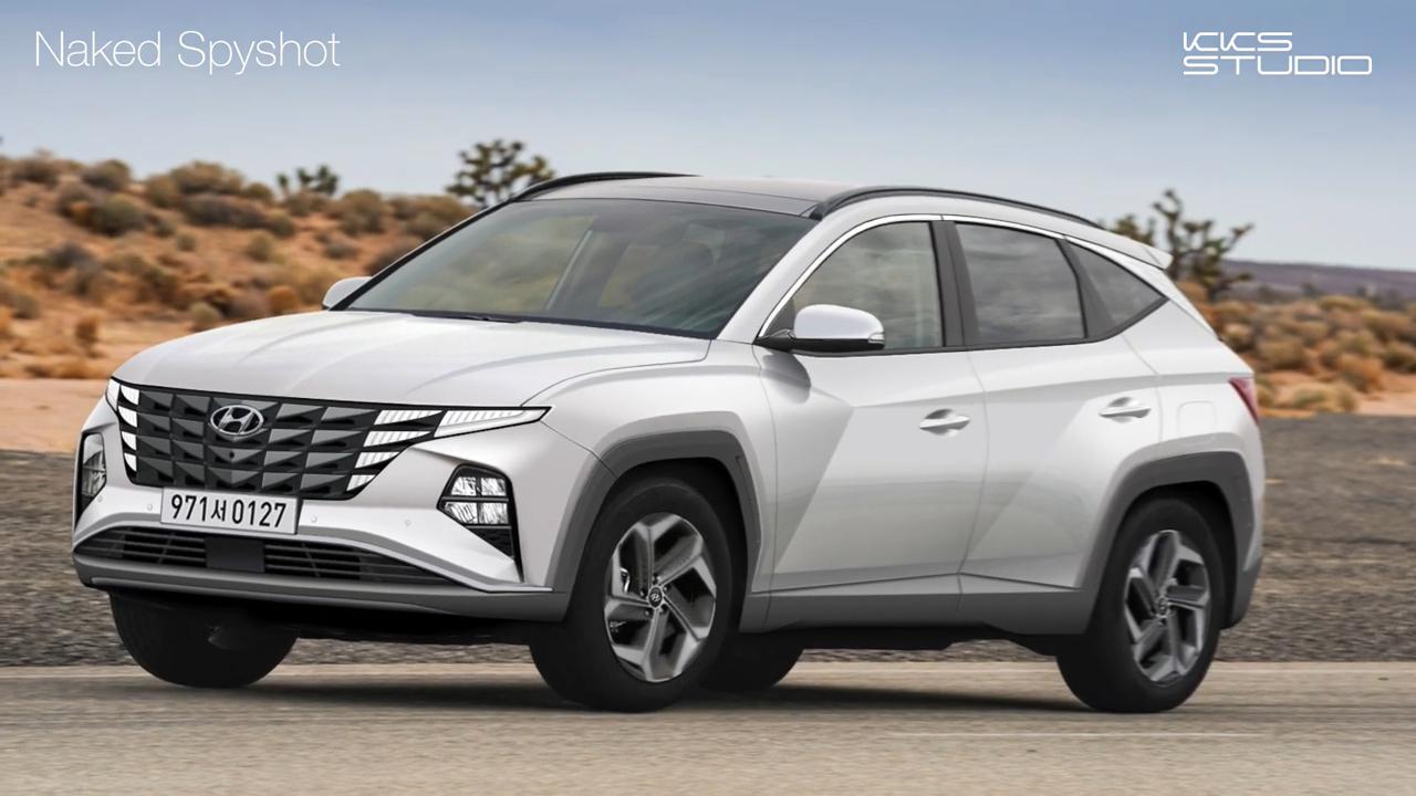 Hyundai Tucson 2021 lộ thông số kỹ thuật trước ngày ra mắt