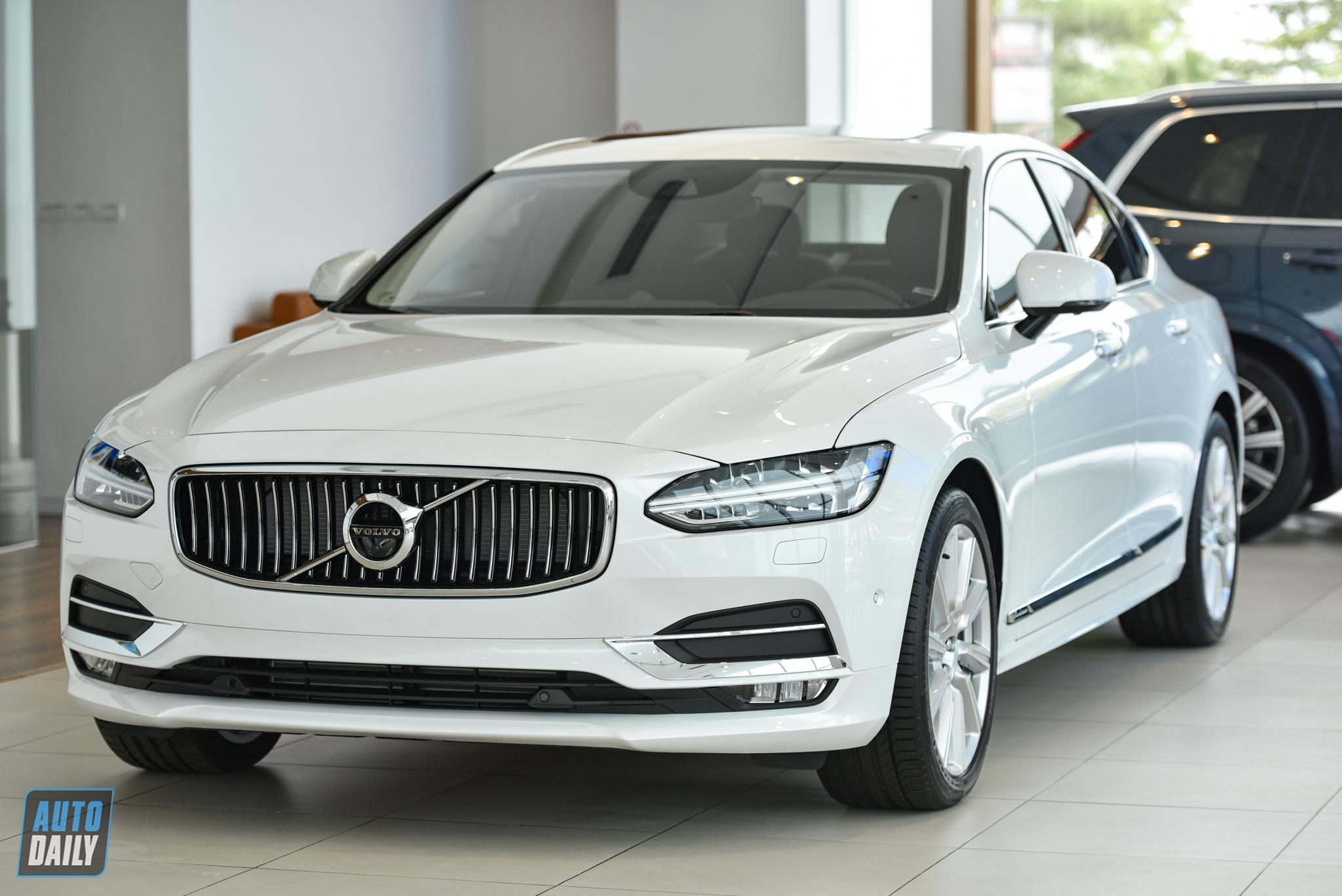 So sánh Volvo S90 2020 và các đối thủ