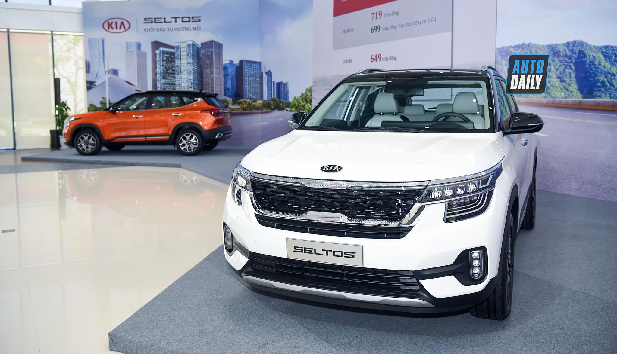 Kia Seltos 2020 ra mắt tại Việt Nam, bán ra từ tháng 9, giá từ 589 triệu