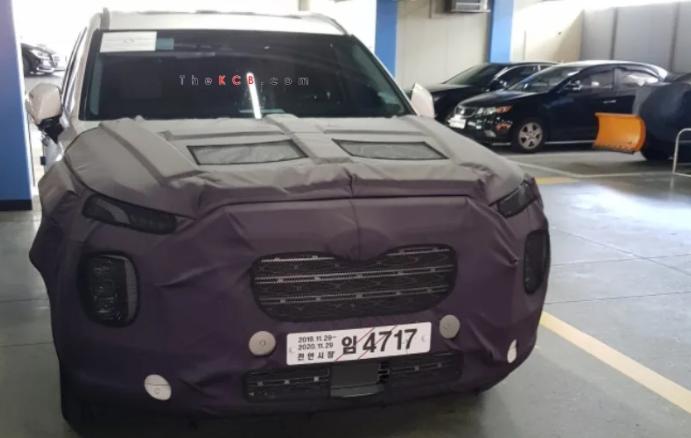 Hyundai Palisade bản nâng cấp giữa vòng đời lần đầu lộ diện