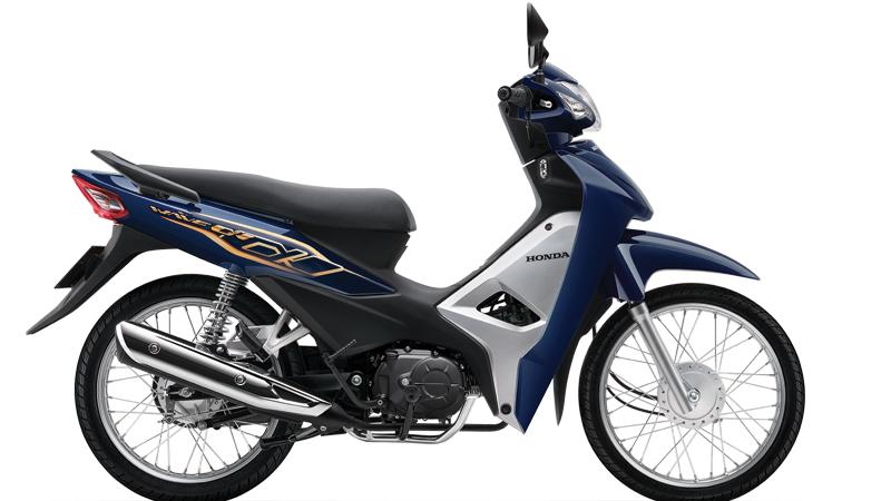 Honda Wave Alpha 110cc 2020 ra mắt, có đèn pha tự động