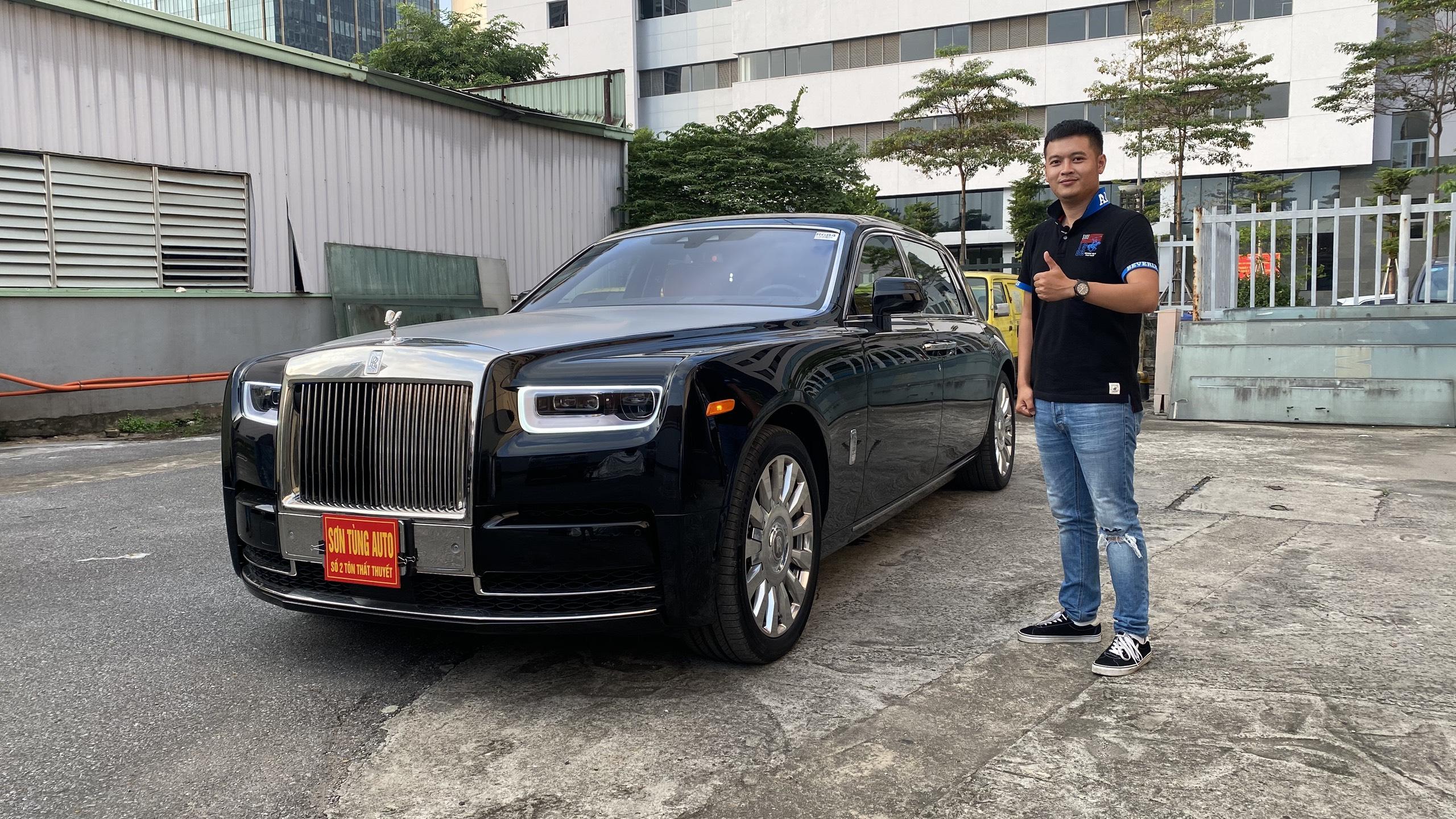 Trải nghiệm nhanh Rolls Royce Phantom 8 hơn 70 tỷ nội thất phong cách Hermes