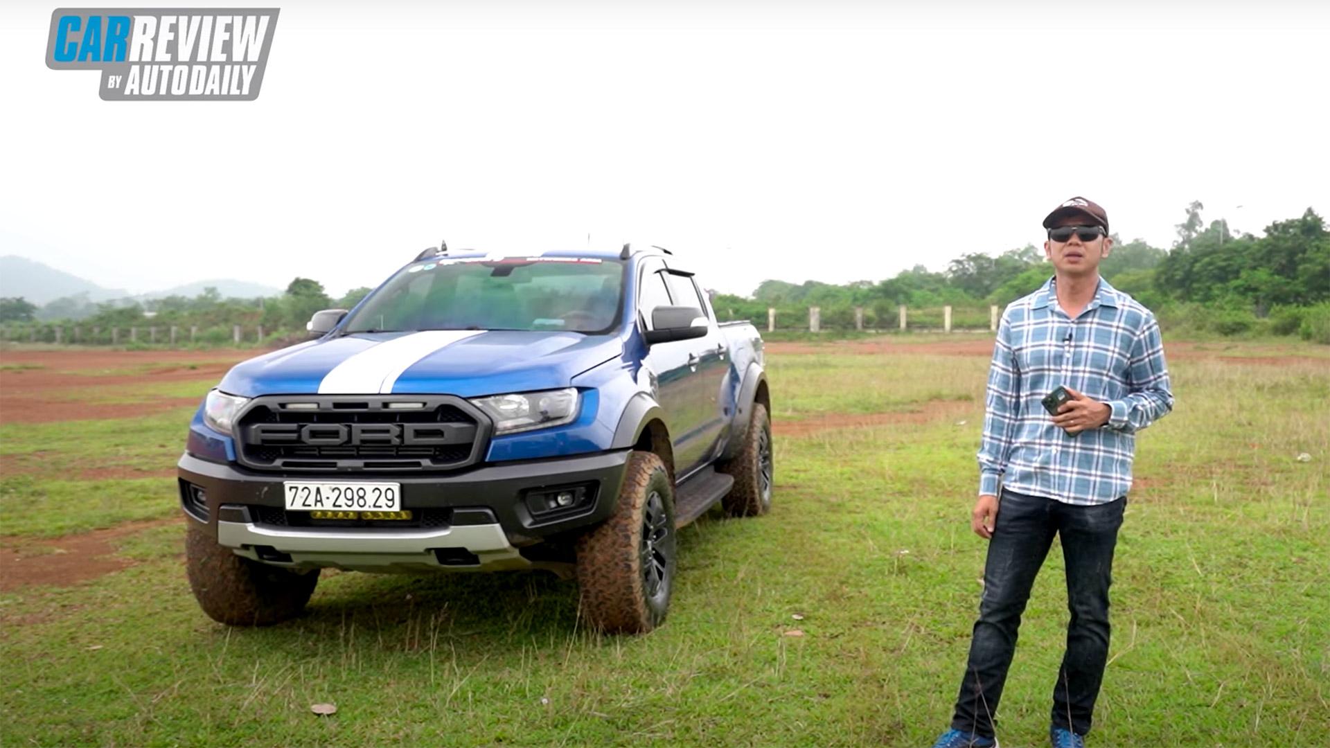 Đánh giá Ford Ranger Raptor qua chia sẻ của người dùng
