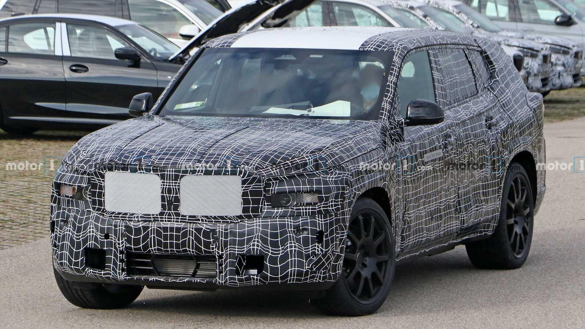 BMW X8 bắt đầu được thử nghiệm thực tế