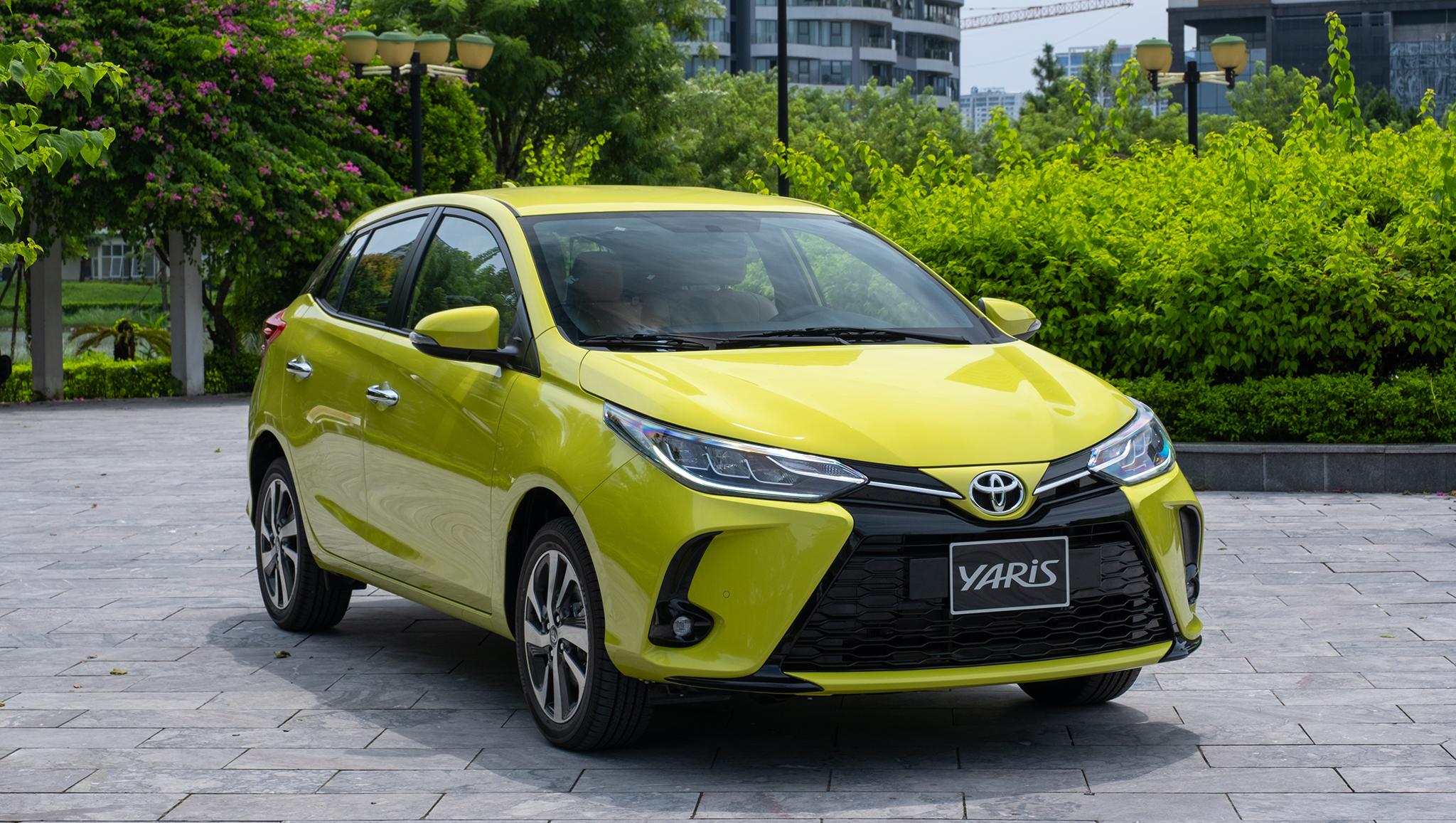 Toyota Yaris 2021 giá 668 triệu ra mắt tại Việt Nam