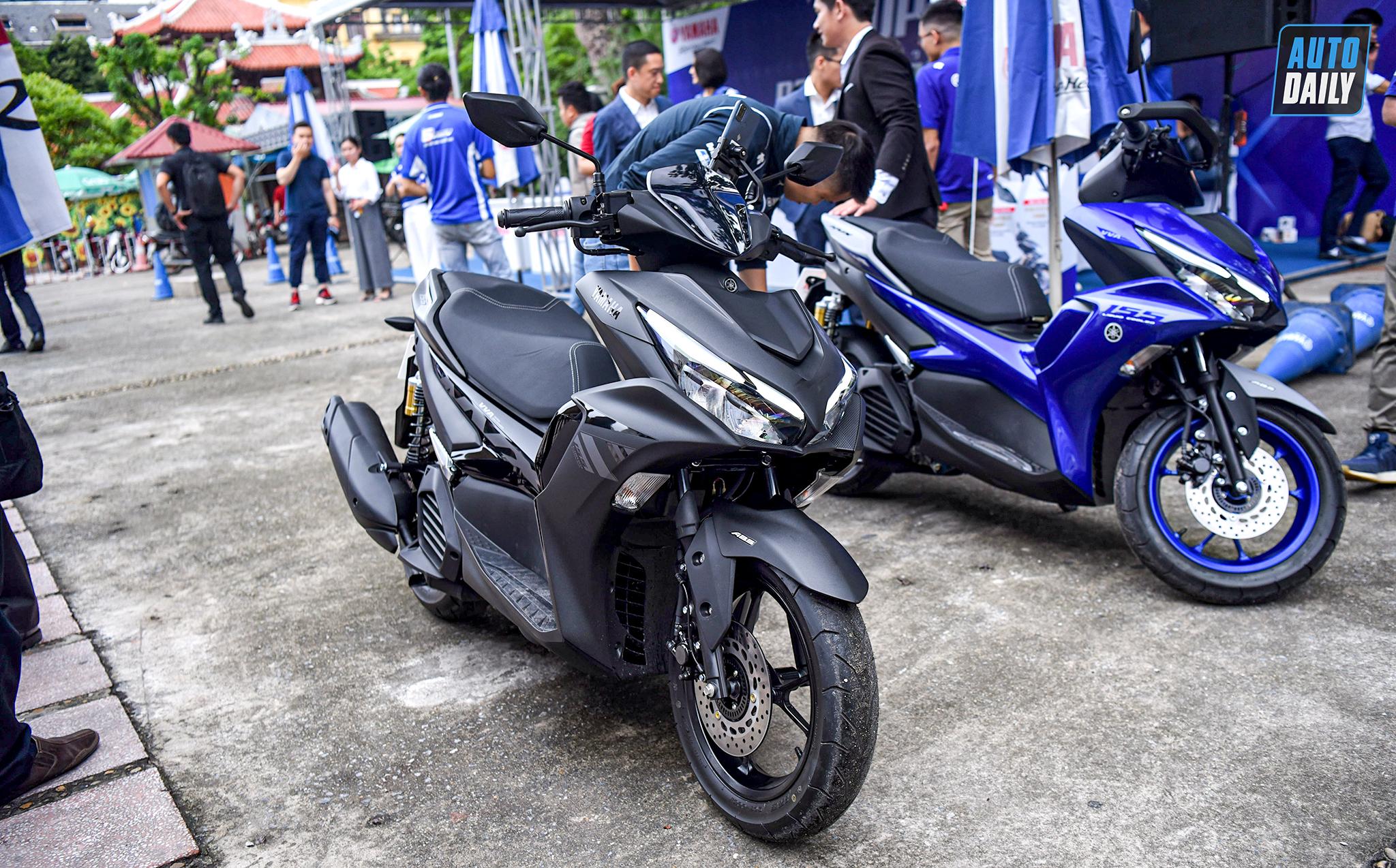 Quyết đấu Honda Air Blade, Yamaha ra mắt NVX 155 2021 giá 53 triệu, bỏ bản 125cc