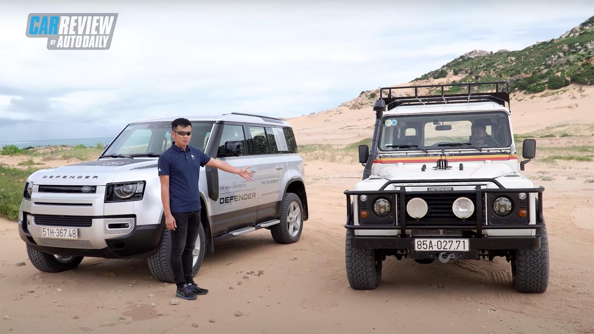 Land Rover Defender 2020 đọ sức Defender 1999 - New vs. Old