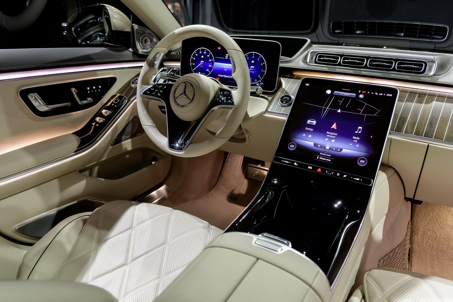 Mercedes-Maybach S-Class 2021 ra mắt: Sedan siêu sang cho Chủ tịch