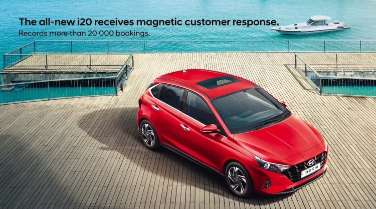 Vừa ra mắt, Hyundai i20 2020 đã 'gây sốt' với 20.000 đơn đặt hàng