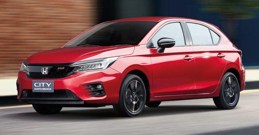 Honda City Hatchback 2021 trình làng, giá từ 19.740 USD