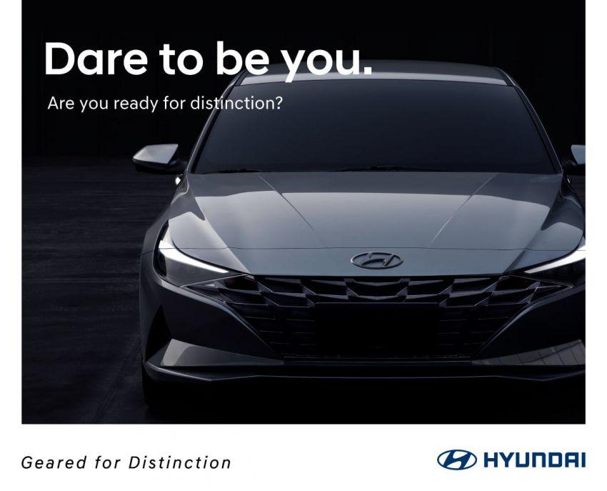 Hyundai Elantra 2021 sắp ra mắt thị trường Đông Nam Á