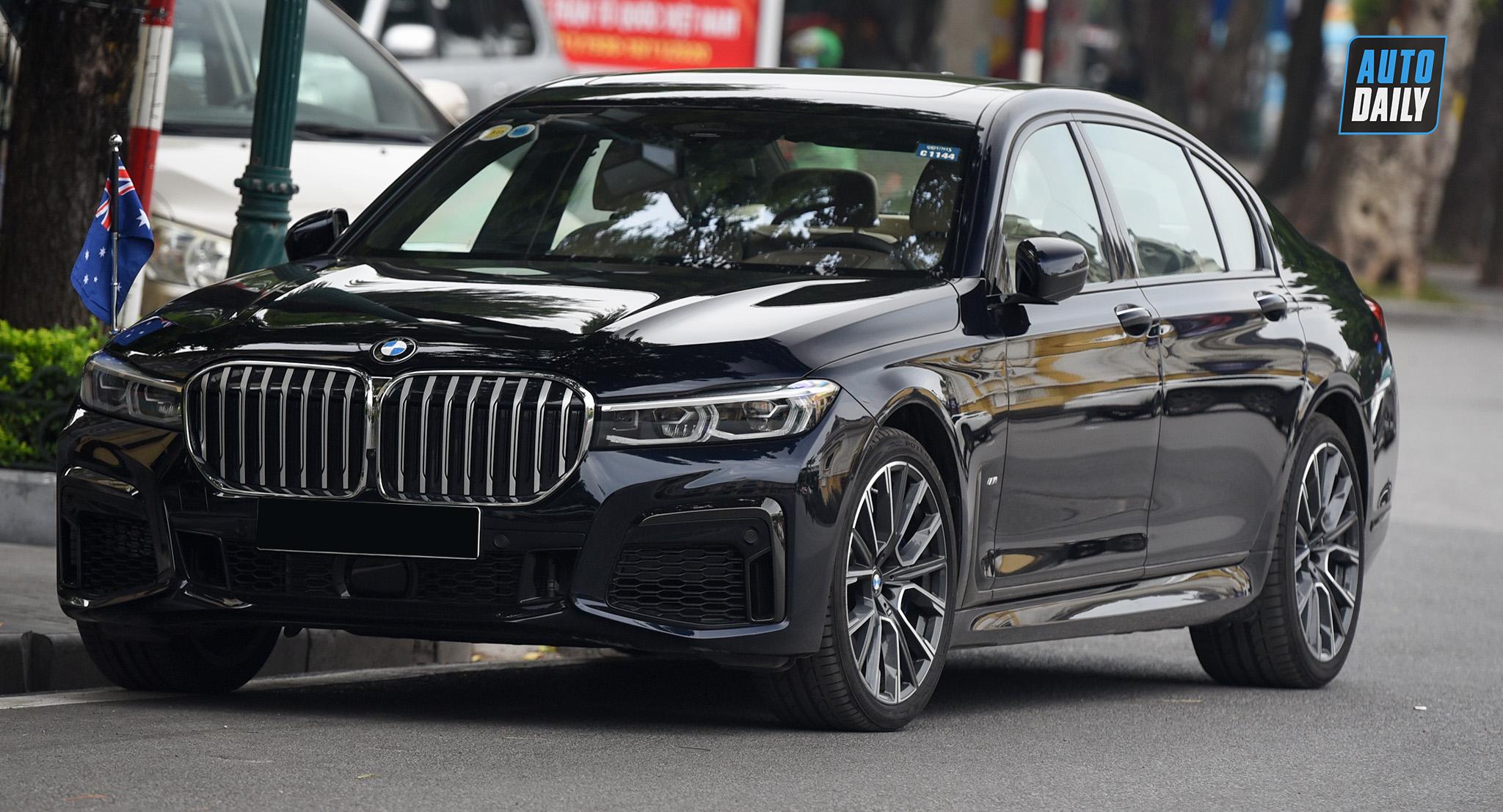 Diện kiến BMW 740Li M-Sport 2020 độc nhất Việt Nam
