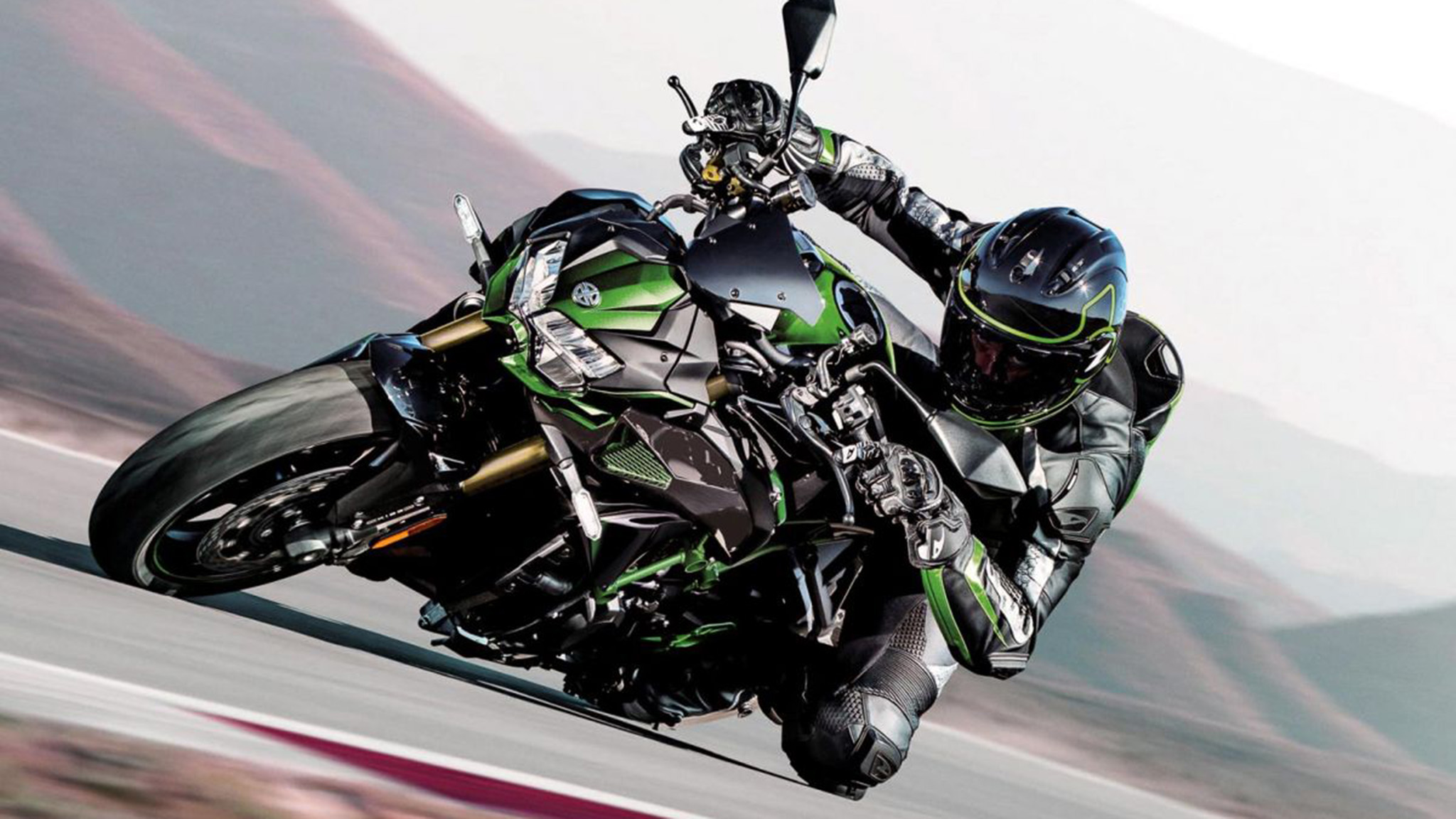 Kawasaki Z H2 SE 2021 ra mắt, nâng cấp treo và phanh