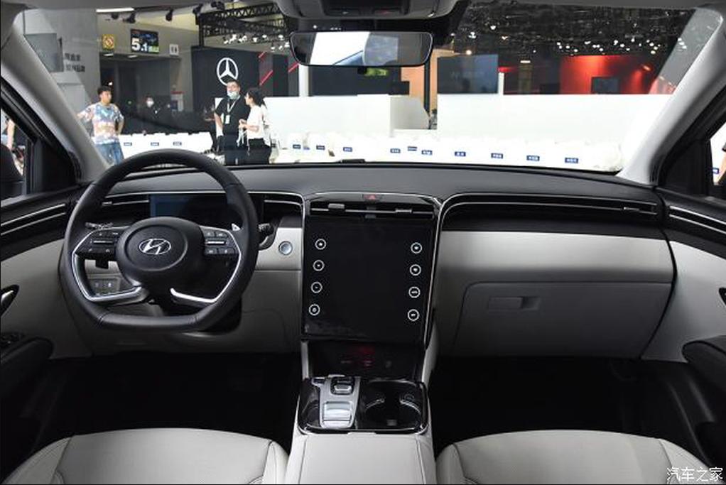 Cận cảnh Hyundai Tucson 2022 bản Trung Quốc với màn hình 'siêu khủng' tucson-2.png