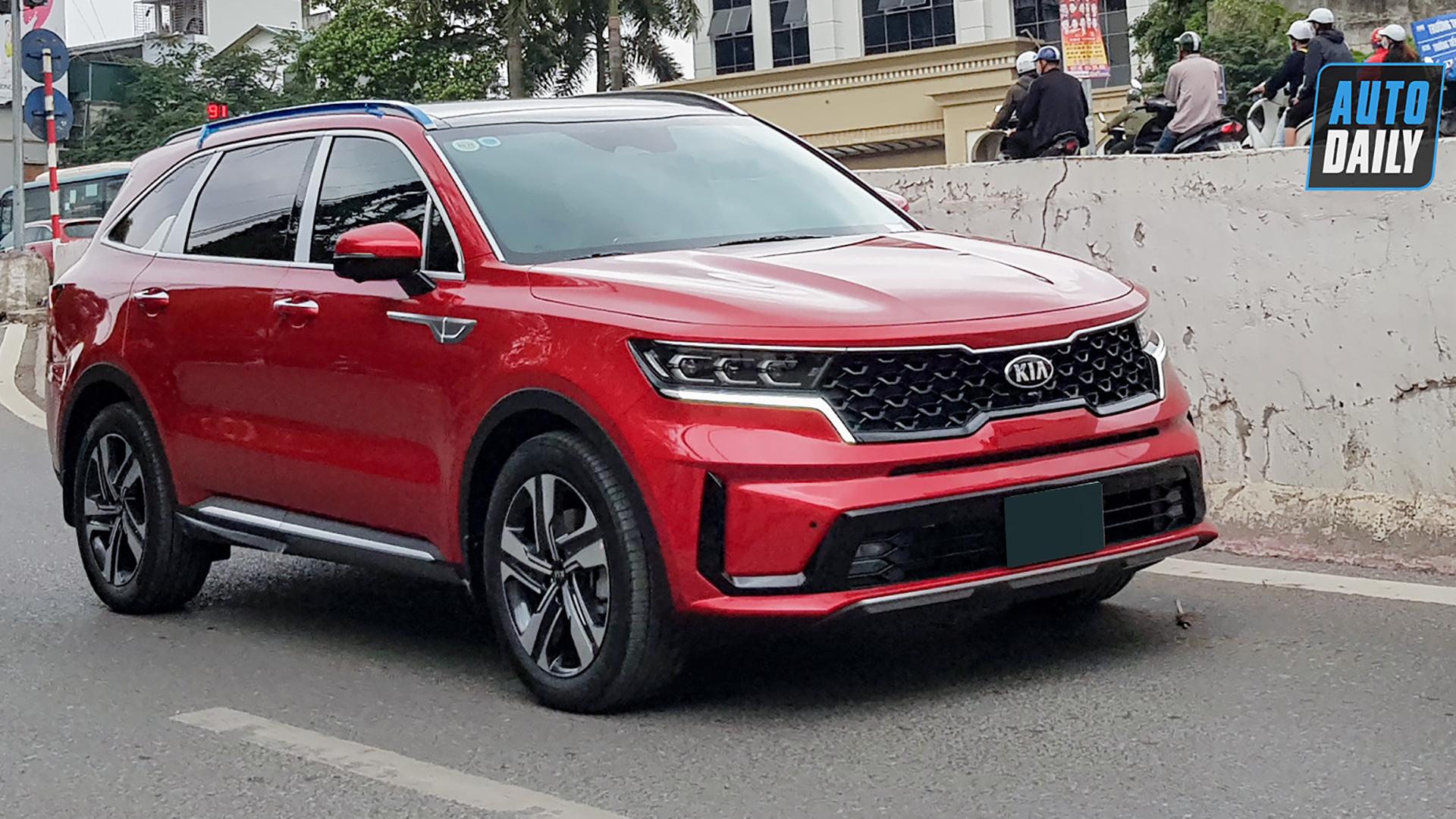 Nhiều chủ xe Kia Sorento 2021 hào hứng khoe nhận xe