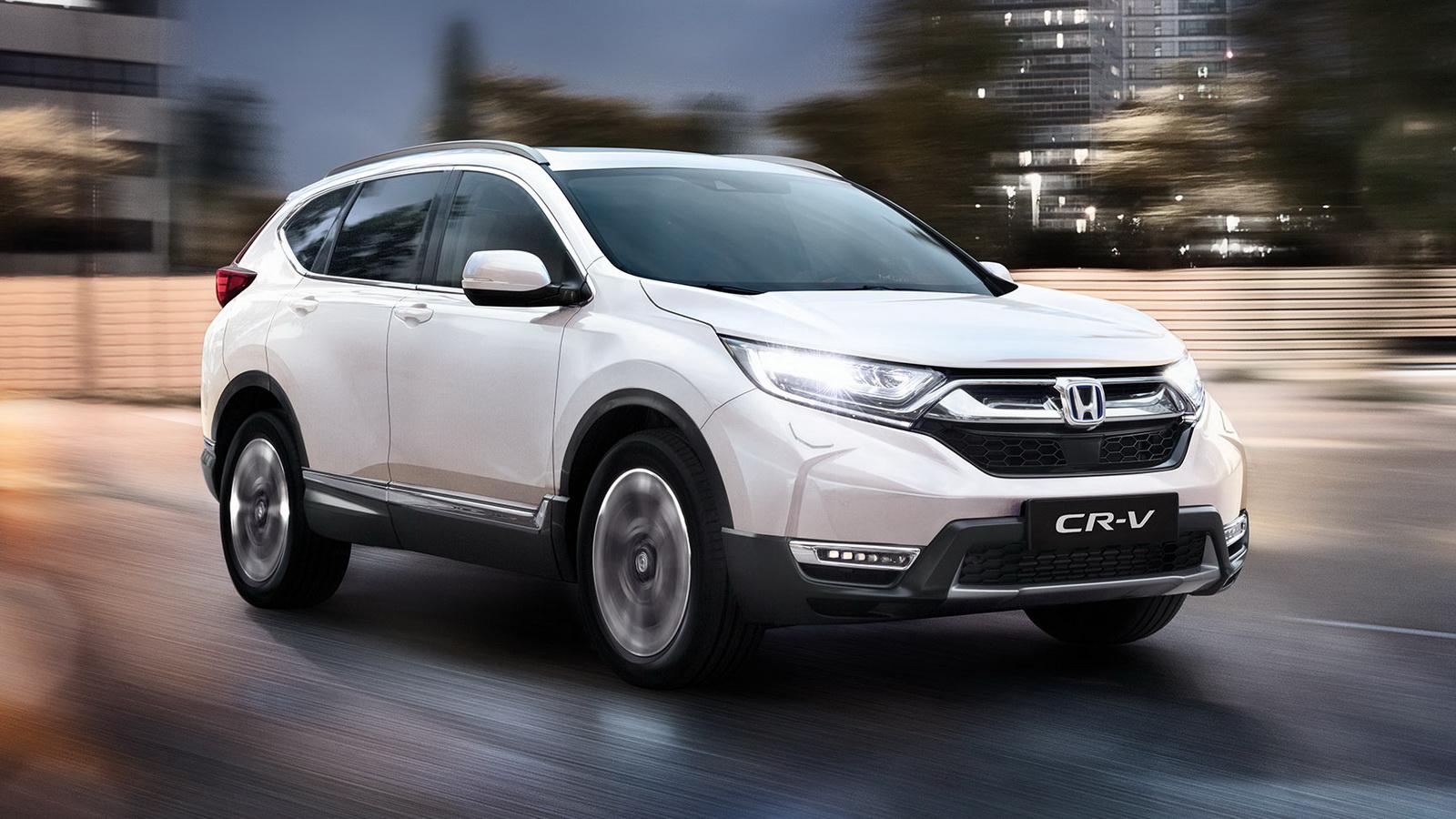 Honda CR-V Hybrid 2021 có giá khởi điểm từ 40.260 USD