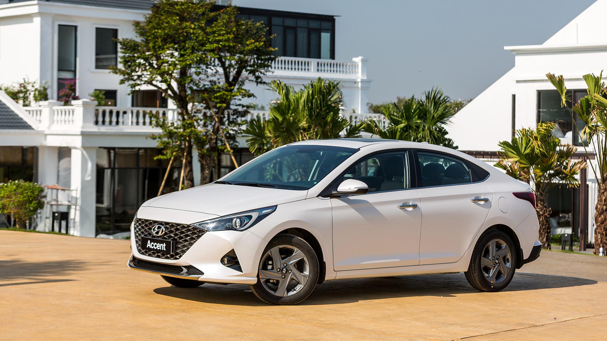 Chi tiết giá lăn bánh các phiên bản Hyundai Accent 2021 tại Việt Nam