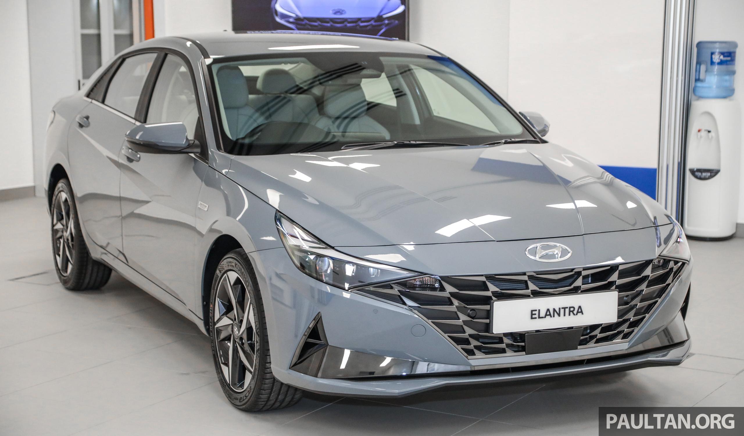 Cận cảnh Hyundai Elantra 2021 sắp ra mắt tại Malaysia, chờ ngày về Việt Nam