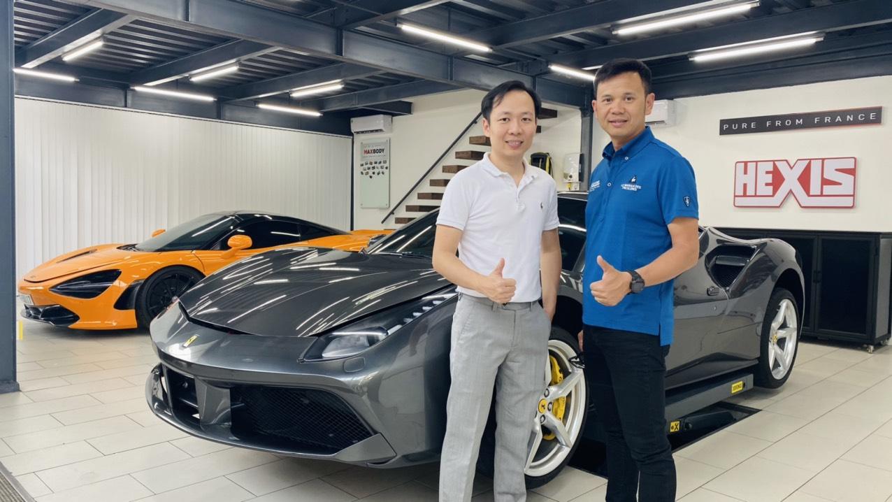 Gặp người chăm sóc siêu xe số 1 Việt Nam