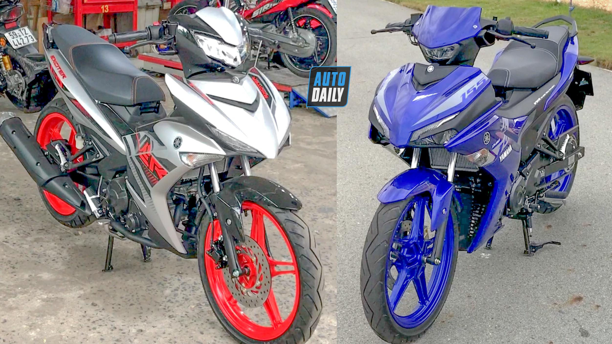 So sánh trực quan Yamaha Exciter 150 và Exciter 155 VVA