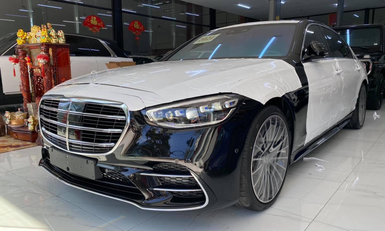 Mercedes-Benz S500 2021 xuất hiện tại Campuchia, chờ ngày về Việt Nam