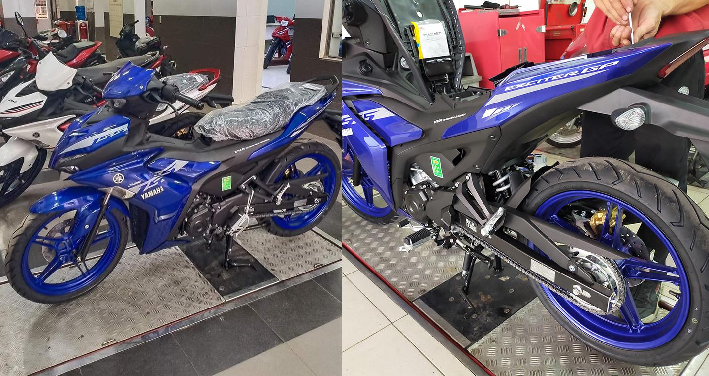 Yamaha Exciter 155 VVA 2021 về đại lý, tăng giá mạnh