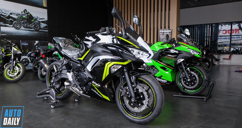 Cận cảnh Kawasaki Ninja 650 ABS 2021, giá từ 197 triệu đồng tại Việt Nam