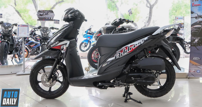 Suzuki Address 110 Fi 2021 chốt giá 28,29 triệu, quyết đấu Honda Vision