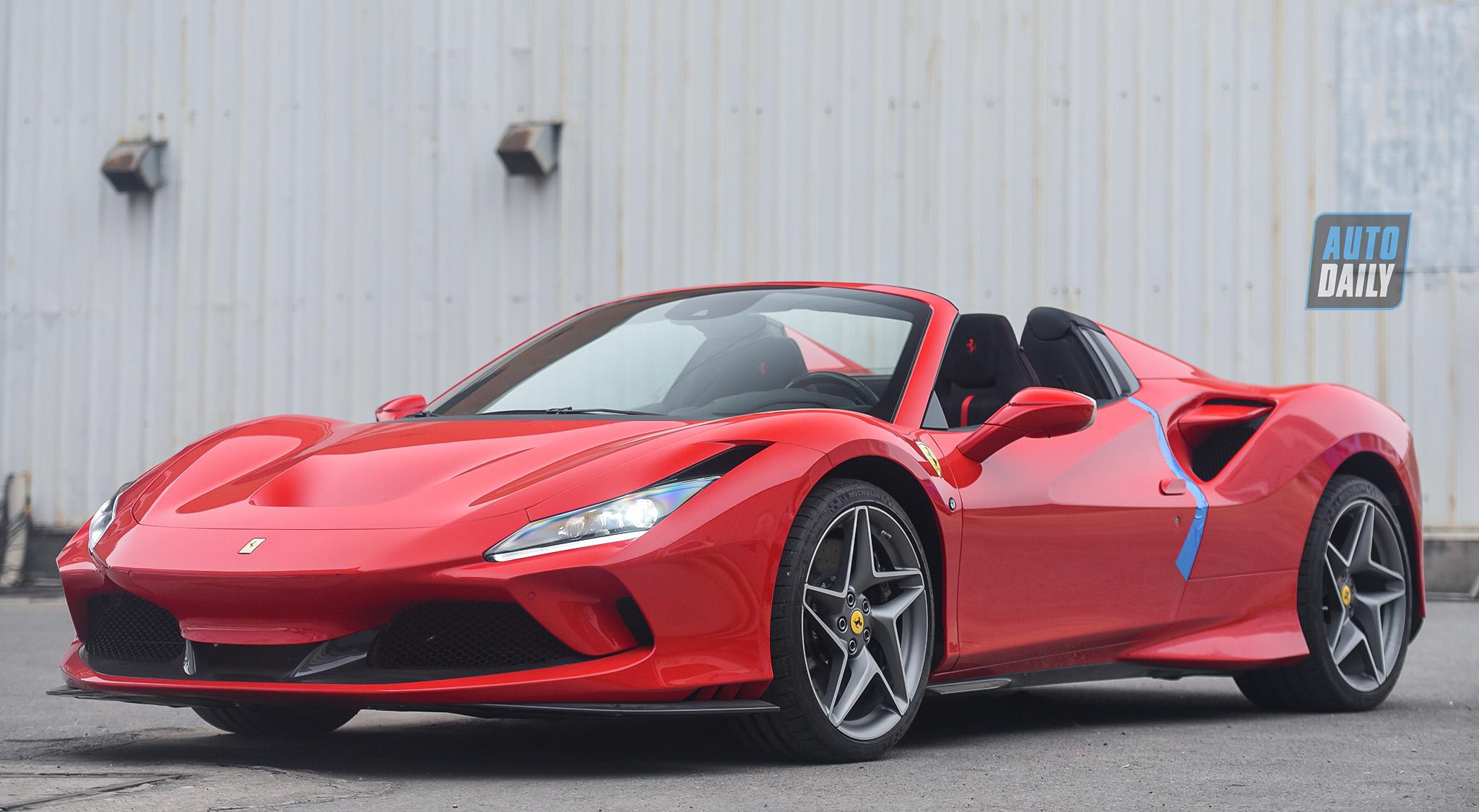 Trải nghiệm siêu xe Ferrari F8 Spider giá hơn 1 triệu USD tại Việt Nam