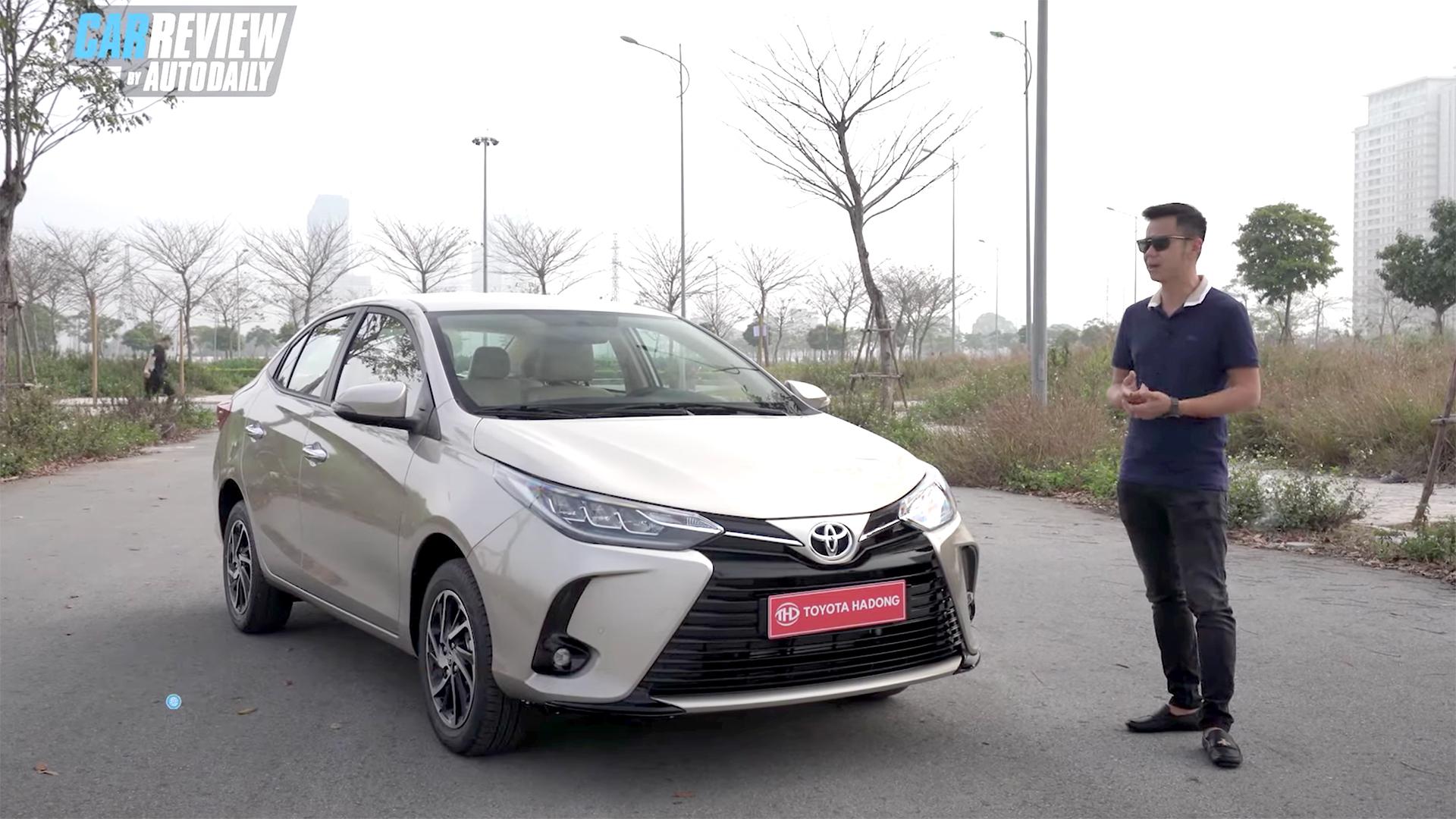"""Bóc tem """"hàng nóng"""" Toyota Vios 2021 - Sức ép lên Honda City, Hyundai Accent ?"""