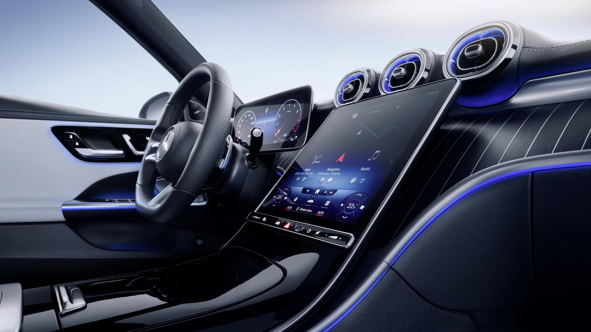 Tất tần tật về Mercedes Benz C Class 2022 - Màn hình như S Class