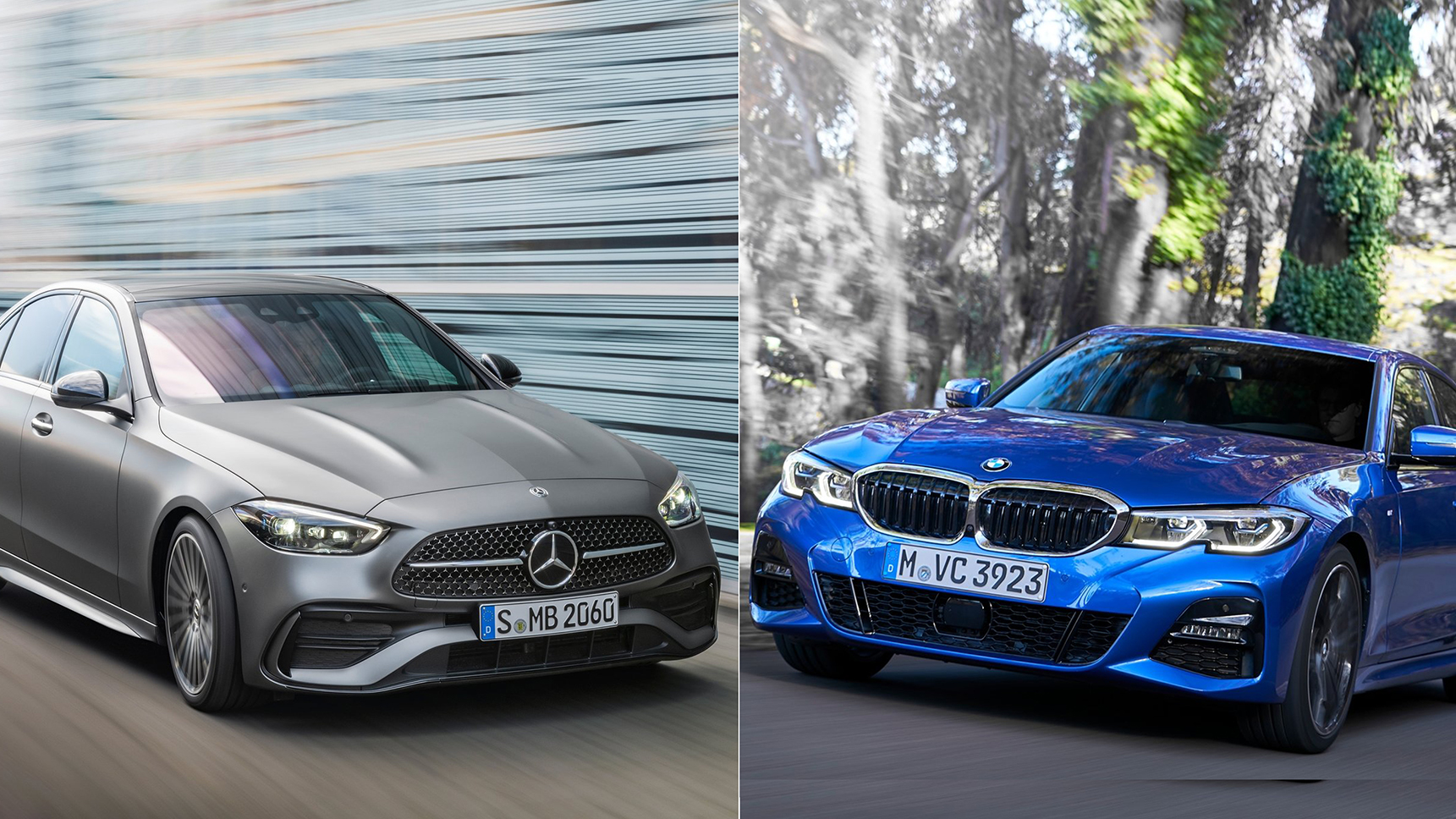 So sánh Mercedes C Class 2022 và BMW 3 Series - Cuộc chiến không khoan nhượng