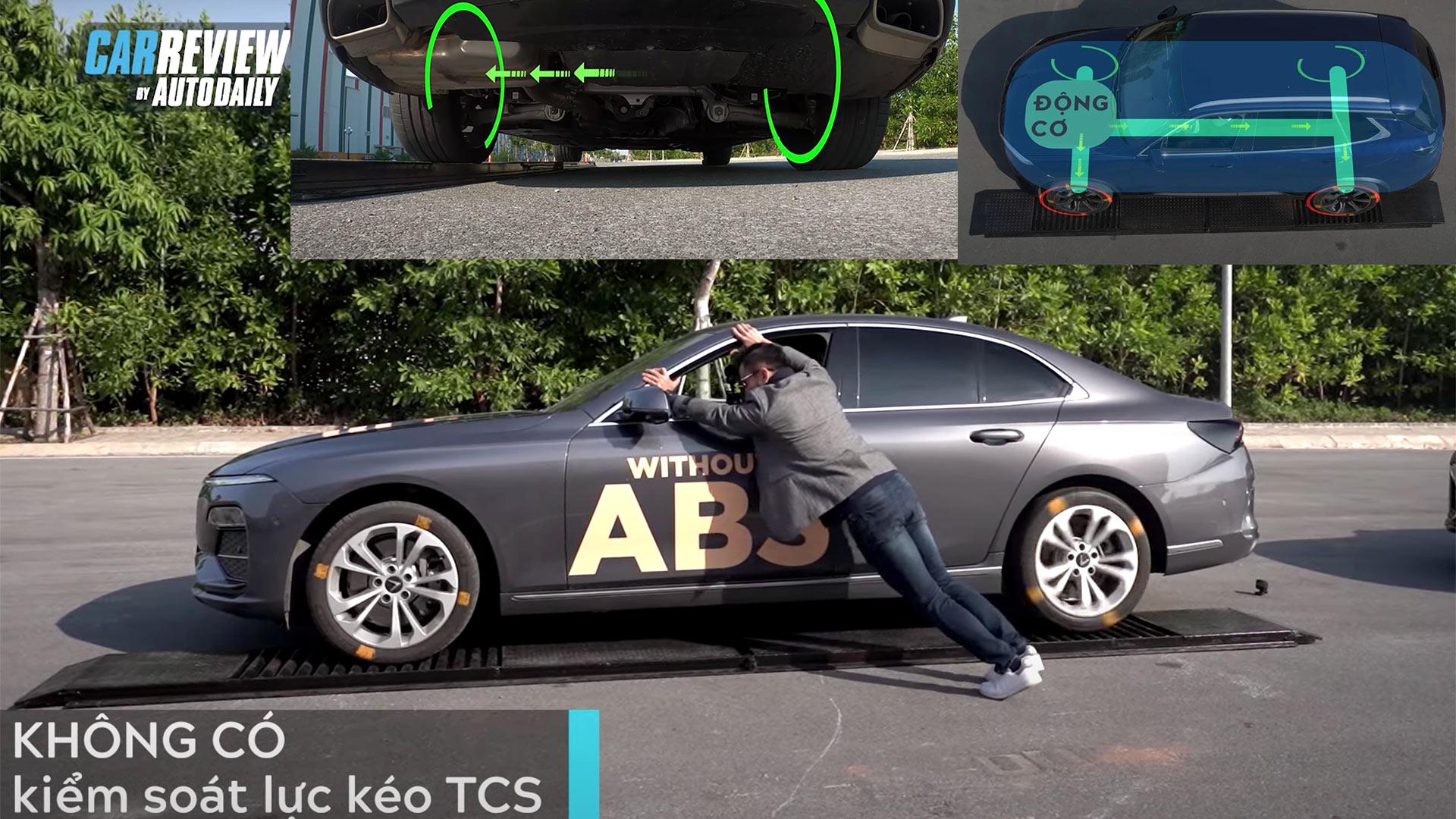 Tầm quan trọng của Hệ thống kiểm soát lực kéo Traction Control trên xe ô tô VinFast