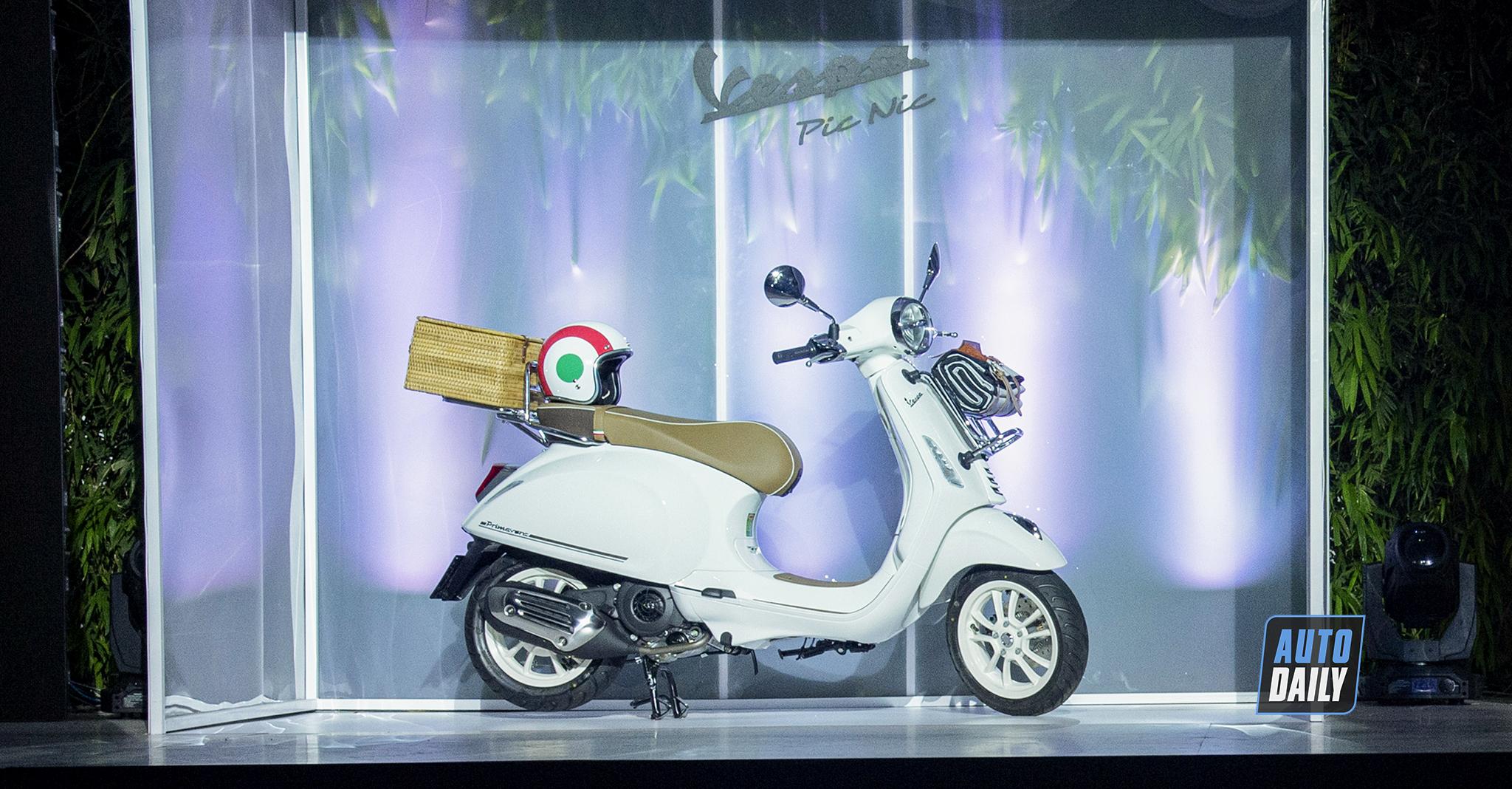Vespa Picnic ra mắt tại Việt Nam, giới hạn chỉ 300 chiếc giá 88 triệu