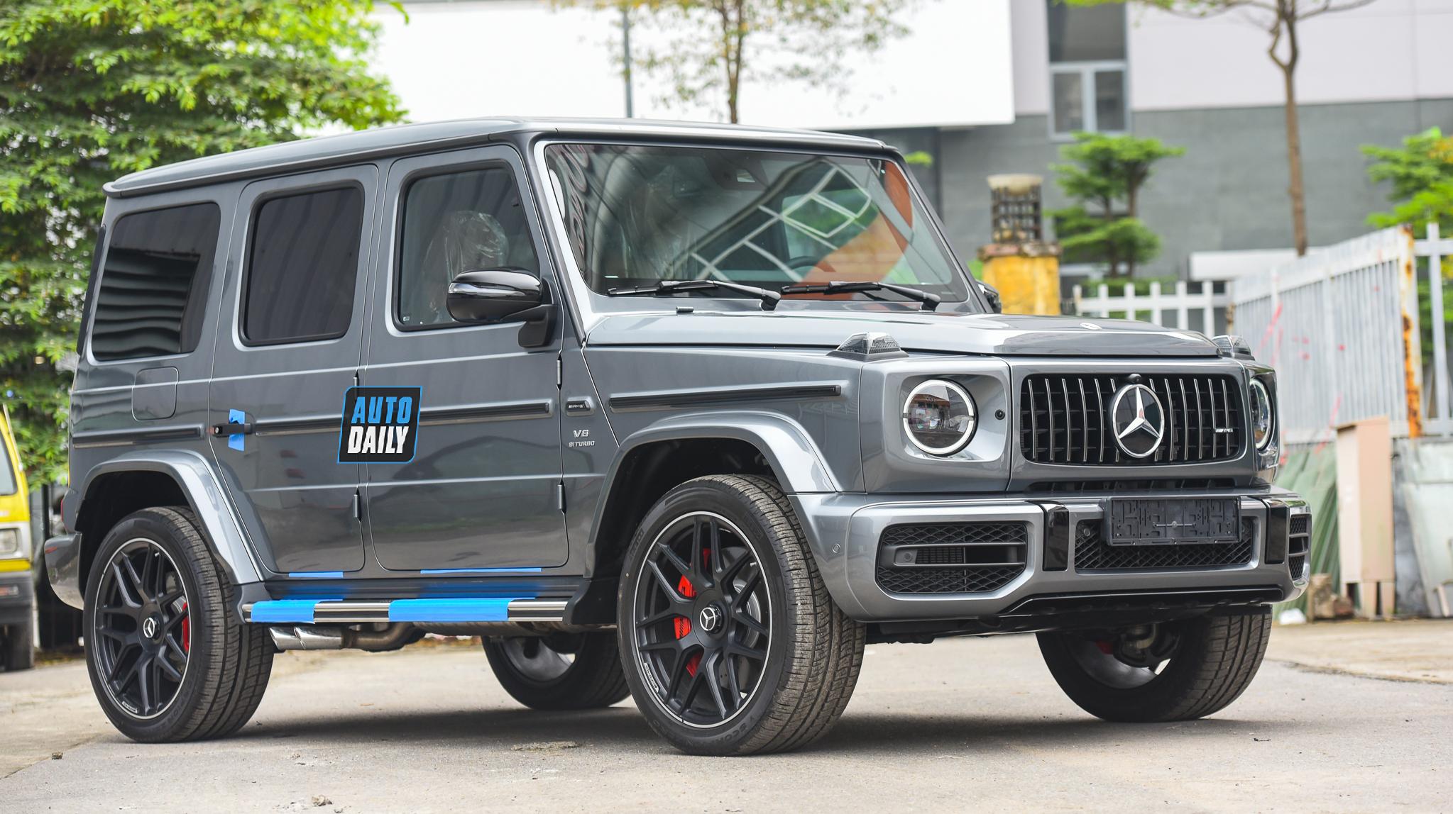 Bóc tem Mercedes G63 AMG 2021 bản cá nhân hoá G Manufaktur tại Việt Nam