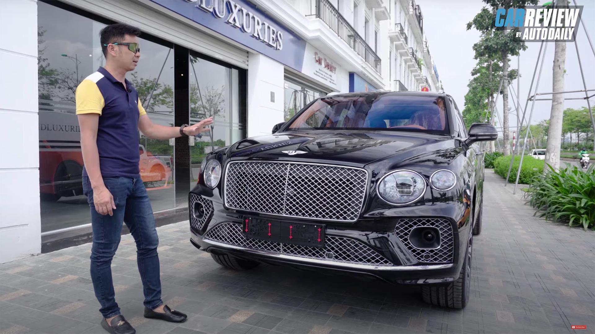 Trải nghiệm nhanh Bentley Bentayga 2021 hơn 18 tỷ vừa về Việt Nam