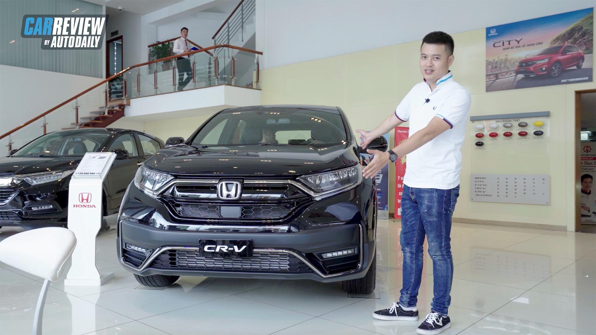 Trải nghiệm nhanh Honda CRV Black Edition giá 1,138 tỷ đồng - HÀNG NÓNG vừa về đại lý