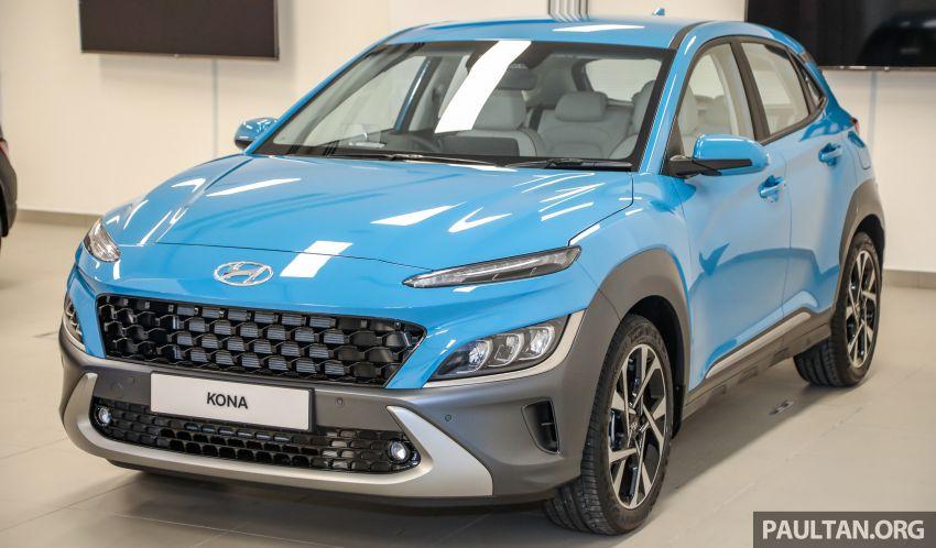 Hyundai Kona 2021 nâng cấp ra mắt tại Malaysia, chờ về Việt Nam