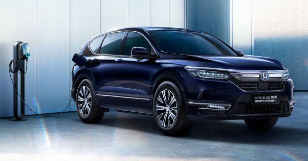 Honda Breeze – 'anh em sinh đôi' của CR-V ra mắt phiên bản tiết kiệm nhiên liệu