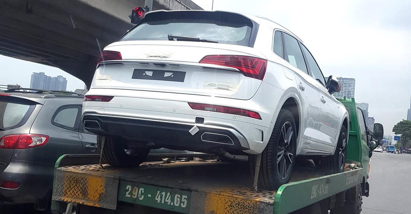 Audi Q5 2021 đã về Việt Nam, cạnh tranh Mercedes-benz GLC, BMW X3