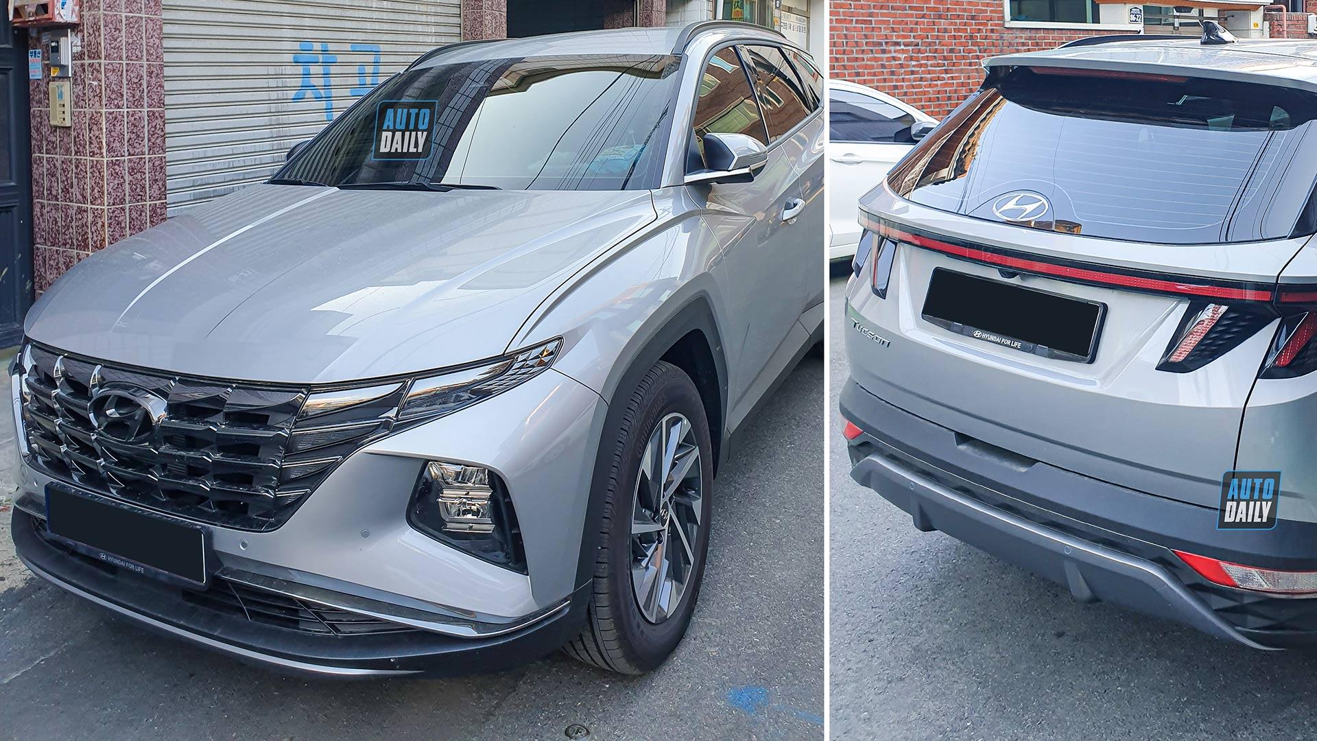 Video: Hyundai Tucson 2022 xuống phố, người Việt ngóng chờ