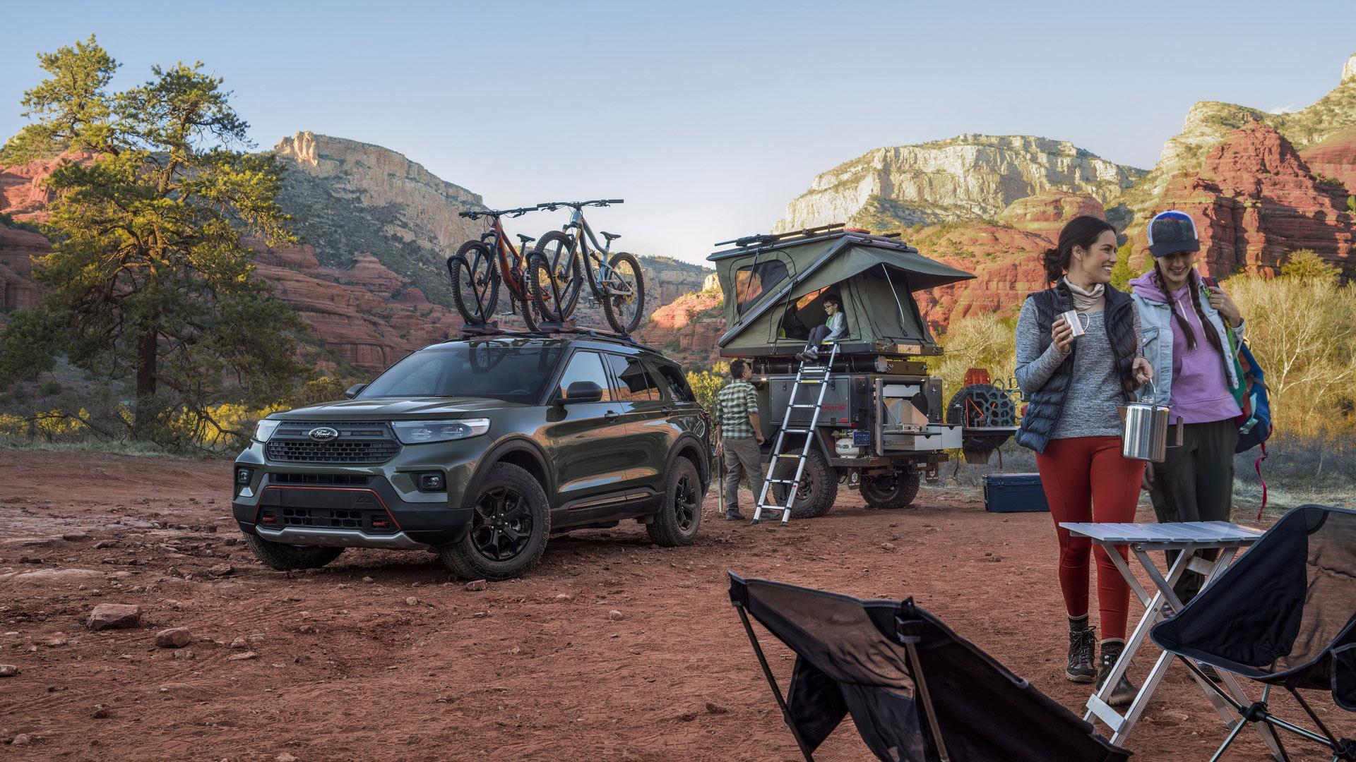 Ford Explorer Timberline 2021 trình làng, sẵn sàng chinh phục những địa hình off-road
