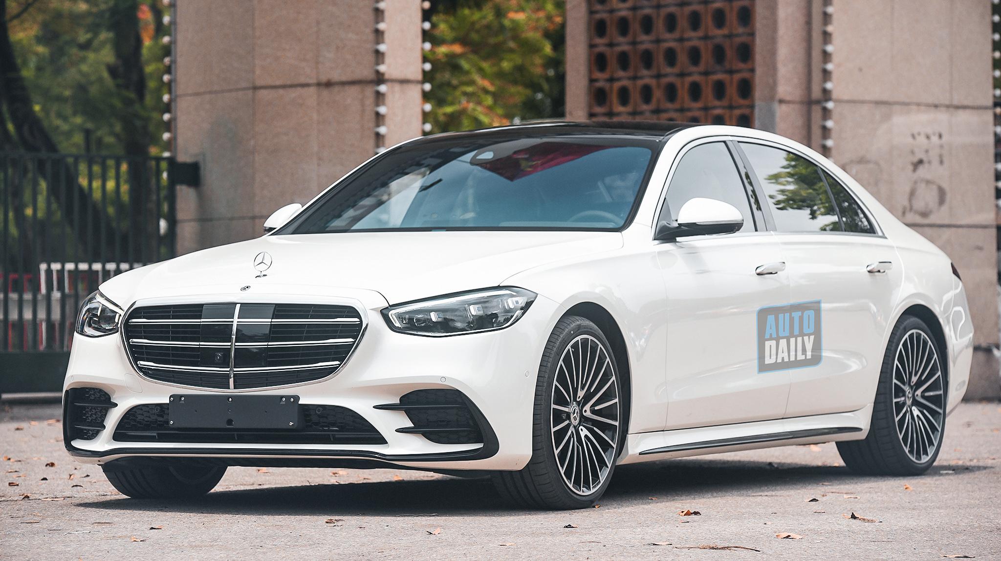Trải nghiệm Mercedes-Benz S500 2021 độc nhất Việt Nam - Đỉnh cao xe sang