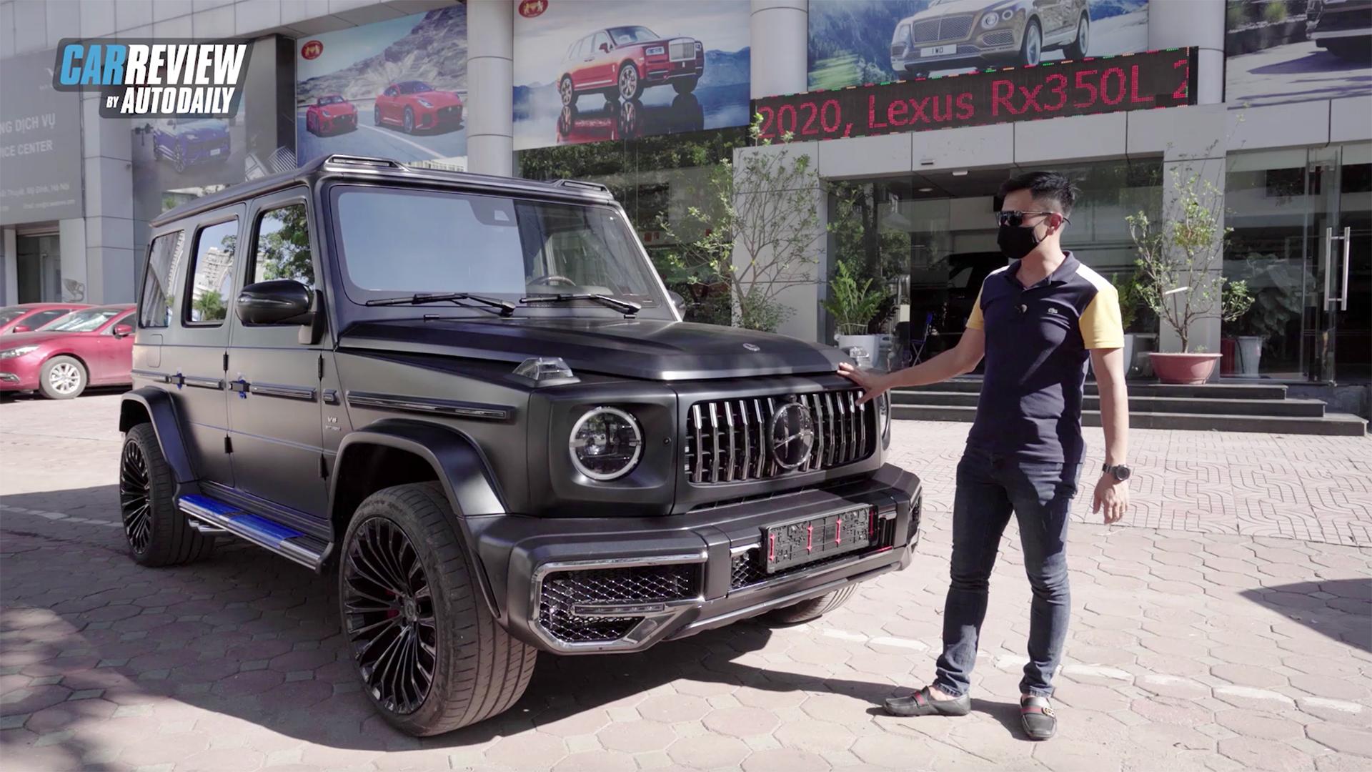 Chi tiết Mercedes G63 AMG - Vì sao các idol giới trẻ Sơn Tùng MTP, Tuấn Hưng mua dùng?